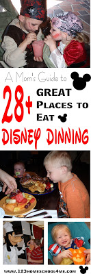 Disney World Dining! Everything you need to know about eating at Disney including how much it costs, where to eat, dining plan tips, the best character meals, best quick service restaurants, best disney world snacks, and so much more! GREAT INFORMATION!