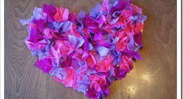 Valentines Day Craft & Countdown