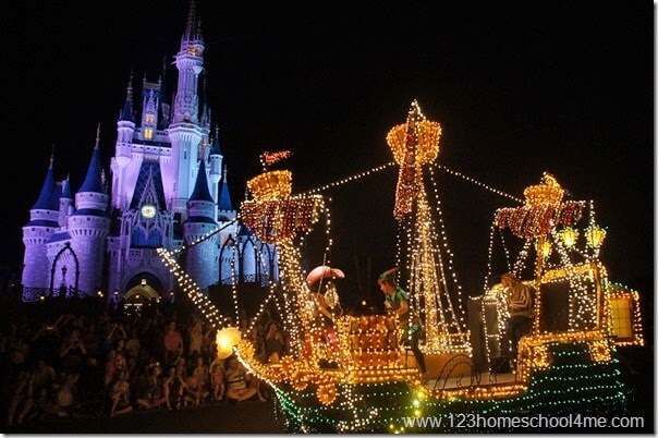 main street electrical parade magic kingdom