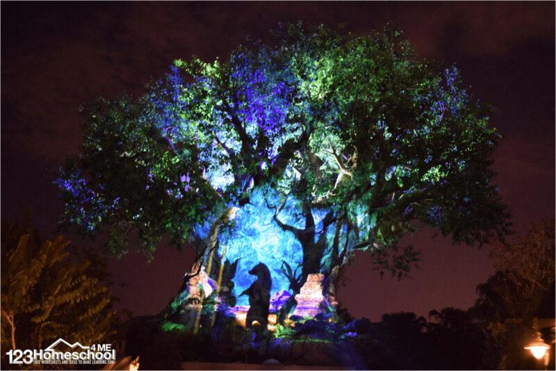 tree-of-life-awakening-animal-kingdom-show-disney-world-planning