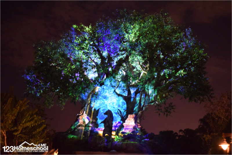 tree-of-life-awakening-animal-kingdom-show-disney-world-planning