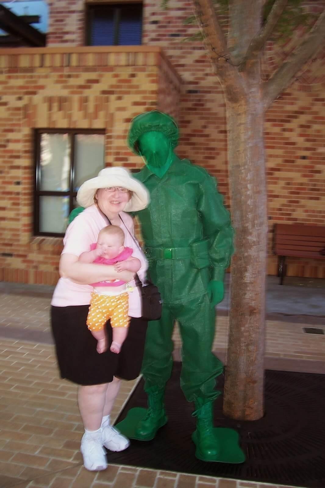 meet Toy Story Green Army Men at Hollywood Studios