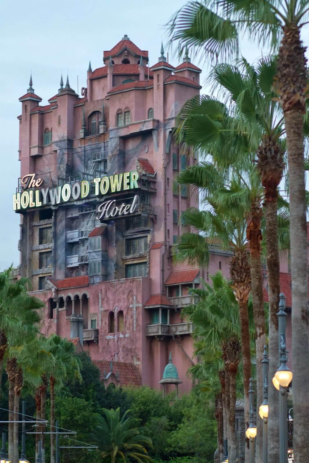 Hollywood Tower of Terror ride at Hollywood Studios