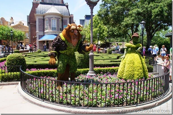 France area in Epcot Disney World