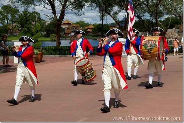 USA Pavillion Epcot Disney World