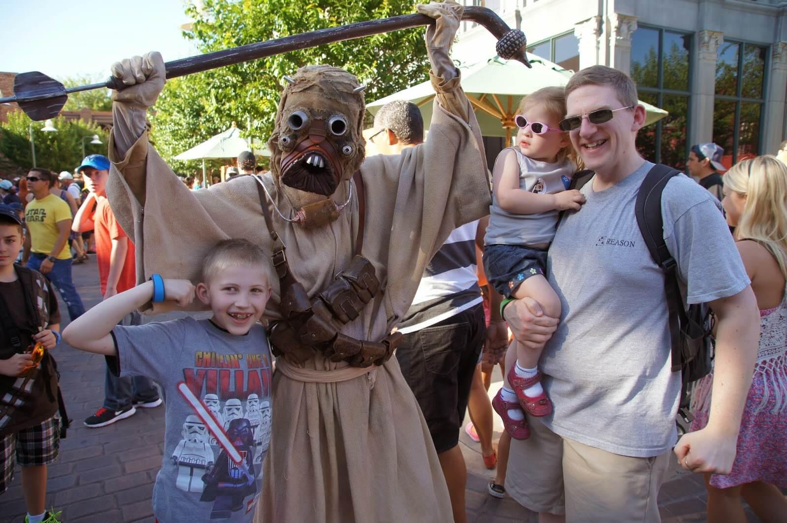 Meet lots of Star Wars Characters at Hollywood Studios during Star Wars Weekend