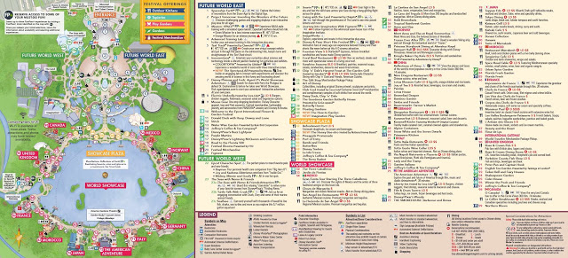 image regarding Printable Epcot Map titled Epcot Coming up with Recommendations Techniques 123 Homeschool 4 Me