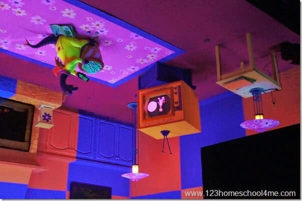 epcot attractions - imagination with figment ride at epcot in disney world