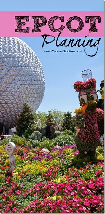 Epcot Planning Tips - Everything you need to know to plan your Disney World trip. Great Disney vacation tips, touring plan, best Fastpass+, tips and tricks, and more #epcot #disneyworld #familyvacation