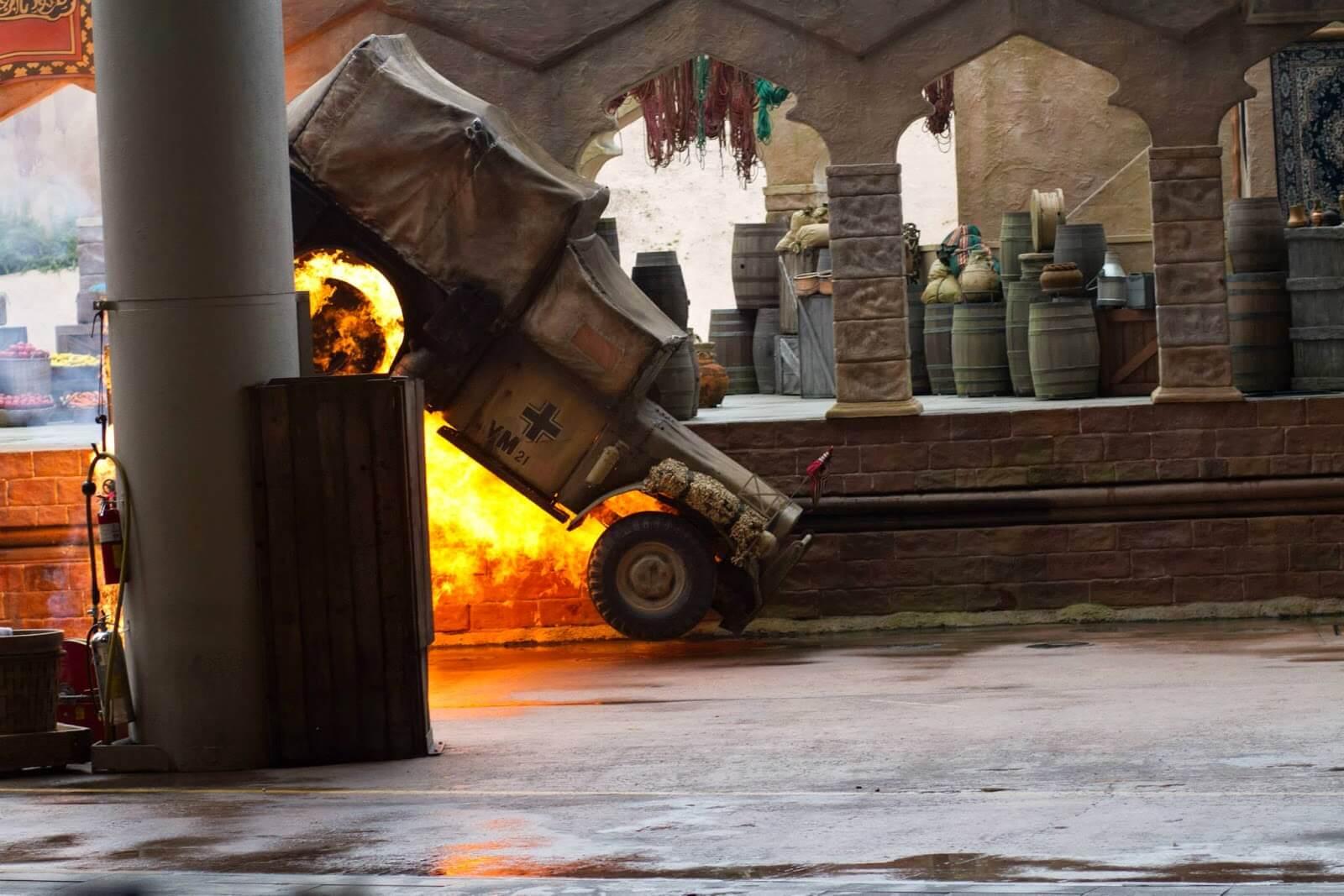 Indiana Jones Stunt Show at Hollywood Studios