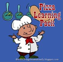 FREE Pizza Worksheets for toddler, preschool, kindergarten, and 1st grade homeschoolers