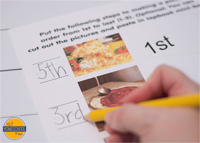 practice ordinal numbers with these fun free printable pizza worksheets for kids