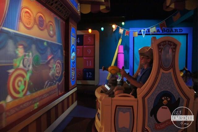 toy story mania ride at hollywood studios