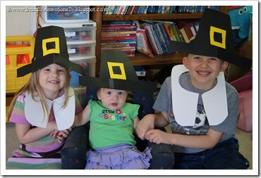 DIY Pilgrim Hats for Kids