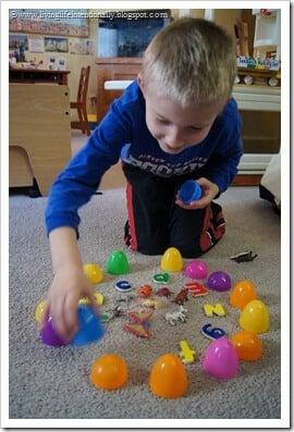 Easter Egg Spelling Games for Preschoolers