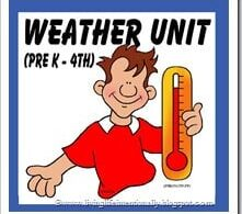 Weather Unit for Kids