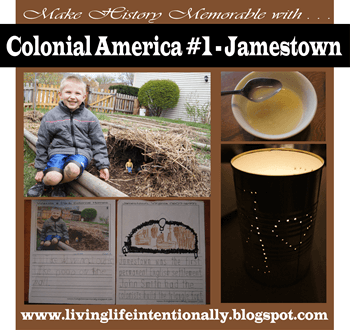 Jamestown Settlement for Kids - so many fun, clever hands on activities to help kids of all ages learn about the earliest settlers in America including free worksheets.