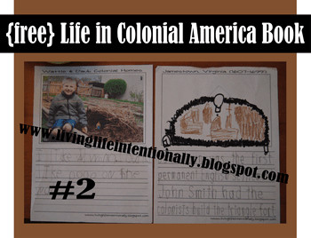 Pilgrim Worksheets - FREE Life in Colonial America Printable Book