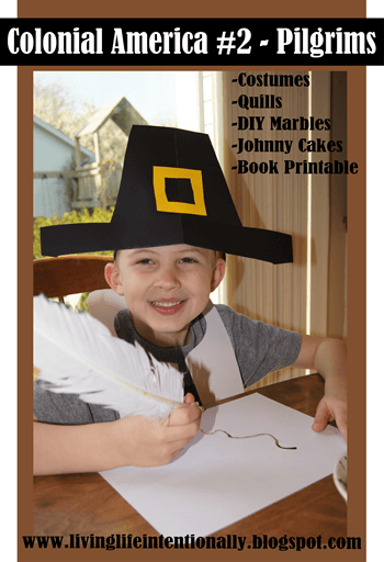 pilgrims for kids - Fun, hands on Homeschool History learning about the Pilgrims with lots of history projects #pilgrims #history #kidsactivities