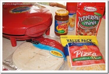 ready to make pizza quesadillas