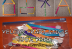FREE Building with Velcro Sticks Idea Book