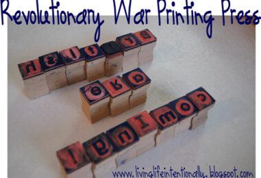 War is Brewing Revolutionary War Unit