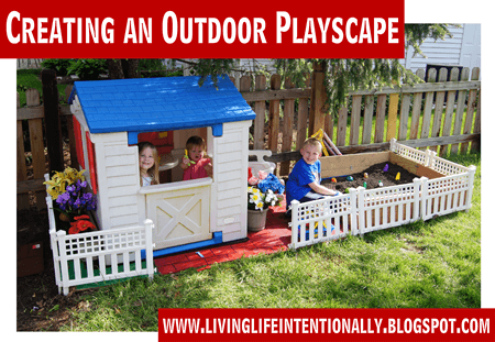outdoor playscape