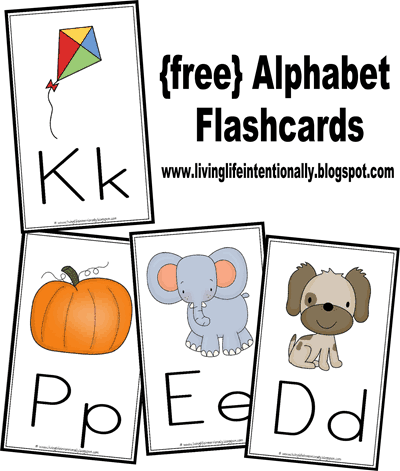 graphic regarding Free Printable Abc Flash Cards titled Totally free Alphabet Flashcards Wallcards 123 Homeschool 4 Me