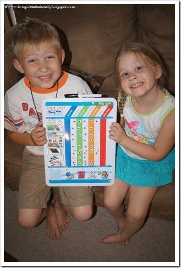 Homeschool Subject Chart for Kids