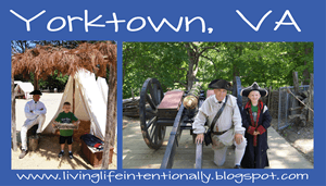 yorktown virginia revolutionary war fieldtrip