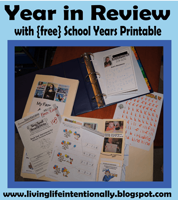 Homeschooling Year in Review
