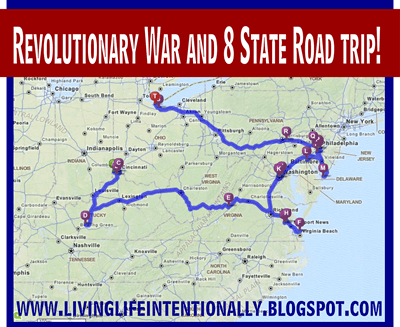 Revolutionary War Road Trip
