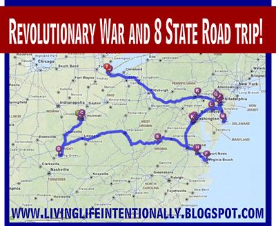 Revolutionary War Road Trip