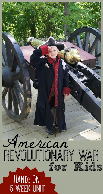 Declaration of Independence for Kids unit with lots of fun hands on activities, free printables, book recommendations, and more. #americanrevolution #revolutionarywar #historyforkids