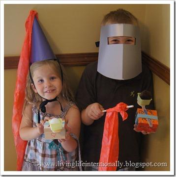 Castle Crafts for Kids