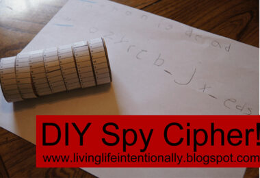 DIY Spy Cipher