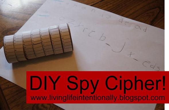 DIY Spy Cipher