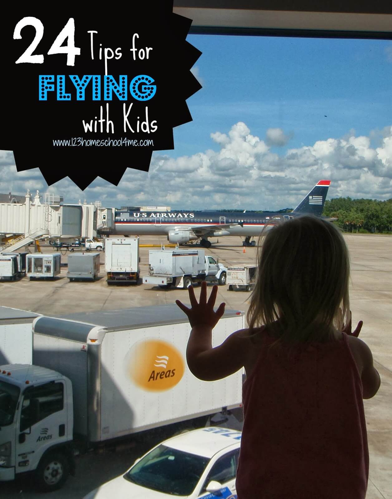 24 Tips for Flying with Kids