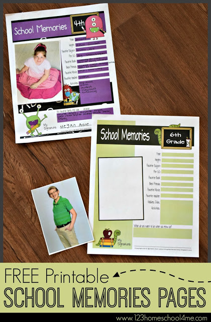 free-printable-school-memories-pages