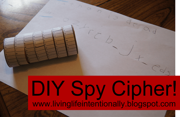 revolutionary war spies and a fun DIY Spy Cipher activity for kids of all ages