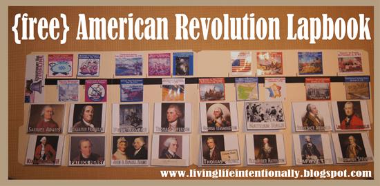 Download FREE Revolutionary War Timeline & Lapbook
