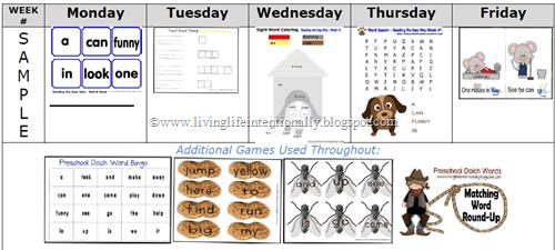weekly-sight-word-program-for-preschoolers