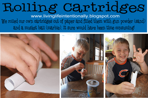 Rolling Cartridges Homeschool History Project