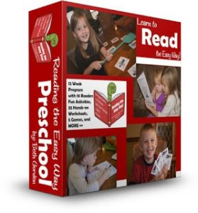 Reading the Easy Way - 12 week program to help preschool, prek, preschooler, and kindergarten gain fluency with sight words. Includes worksheets, games, readers and more! #sightwords #reading #preschool