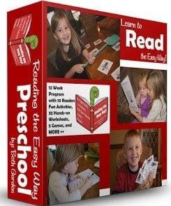 Reading the Easy Way - 12 week program to help preschool, prek, preschooler, and kindergarten gain fluency with sight words. Includes worksheets, games, readers and more! #sightwords #reading #preschool