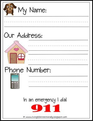 Emergency Information for Kids