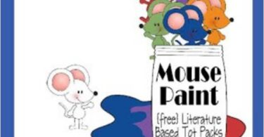 Mouse Paint Worksheets for Kids