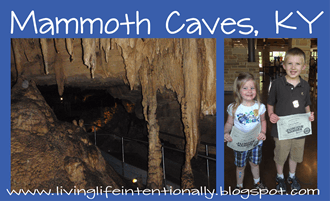 Mammoth Caves in Kentucky