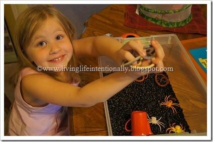 Bug Sensory Bin for Preschoolers