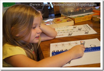 Using a Ruler for Preschoolers with free printable